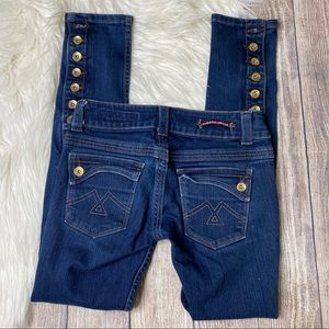 Vigoss 0/25 Skinny Medium Wash Jeans